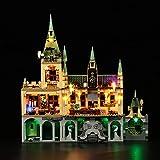 LED Light Kit for Lego Hogwarts Chamber of Secrets 76389 Building Set, USB Powered Lighting Kit for Lego 76389 Set(Lights Kit Without Model)