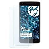 Bruni Schutzfolie kompatibel mit WileyFox Storm Folie, glasklare Bildschirmschutzfolie (2X)