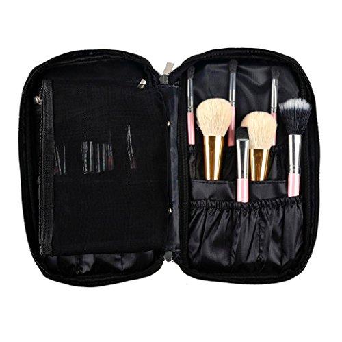 Hunpta Pro Brosse de Maquillage Sac Cosmétique Outil Brosse Organiseur support Poche kit
