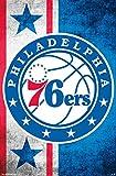 Philadelphia 76ers - Logo Poster Drucken (55,88 x 86,36 cm)