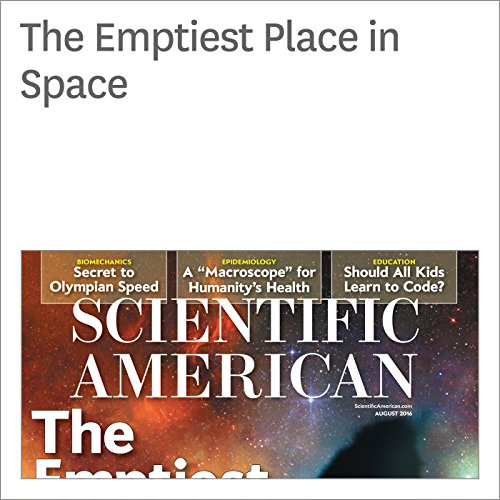 The Emptiest Place in Space cover art