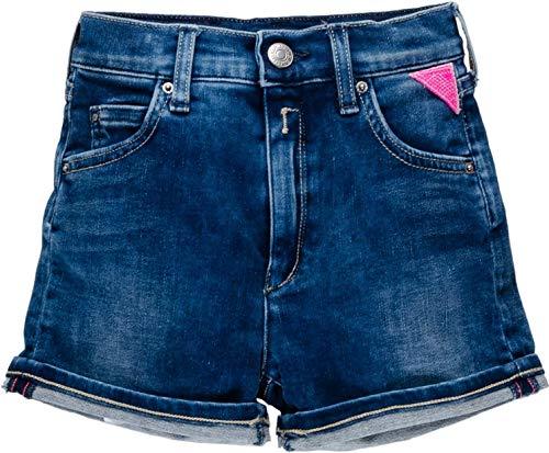 Replay Mädchen SG9585.050.291 445 Shorts, Blau (Denim 001), 164 (Herstellergröße: 14A)