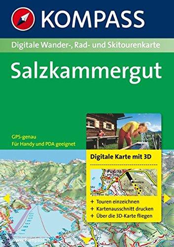 Salzkammergut 3D, 1 DVD-ROM Für Windows NT 4.0/ME/2000/XP. Touren planen, ausdrucken. Frei über die 3D-Karte fliegen. Inkl. PDA-Software. Präzise GPS-Orientierung