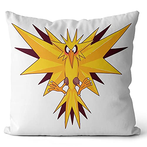 Fundas de cojín Impresas Pokémon Throw Pillow Case Design Fundas de Almohadas Decorativas para sofá Sala de Estar Coche 45x45cm