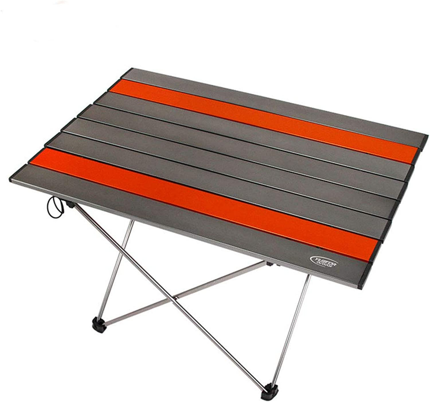 Folding Table, Camping Table Portable Barbecue Picnic Dining Indoor Outdoor Aluminum Table Small Desk (color   39.5  34.5  32.5CM)