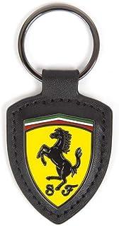 Ferrari Scuderia F1 Leather Fob Keychain