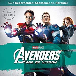 Avengers - Age of Ultron. Das Original-Hörspiel zum Film Titelbild