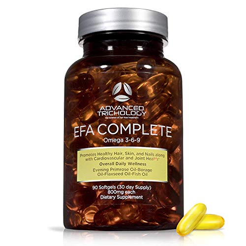 EFA Complete with Optimal Omega 3 6 9 Levels of High Potency Flax Oil,...