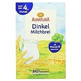 Alnatura Bio Dinkel-Milchbrei, 6er Pack (6 x 250 g) -
