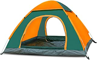 Camping Tent for 3-4 People, Tents Pop Up Instant Automatic Backpacking Dome Tents Waterproof Tent for Outdoor Sports Trav...