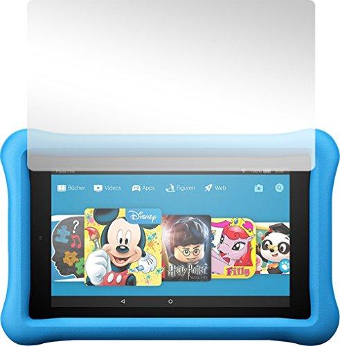 Slabo 2 x Bildschirmschutzfolie für Amazon Fire 7 Kids Edition (7. Generation - 2017) Bildschirmschutz Schutzfolie Folie Crystal Clear KLAR
