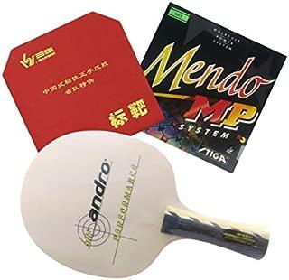 Racket Andro Performance + Sanwei Targer Provincial + Stiga Mendo MP Rubbers