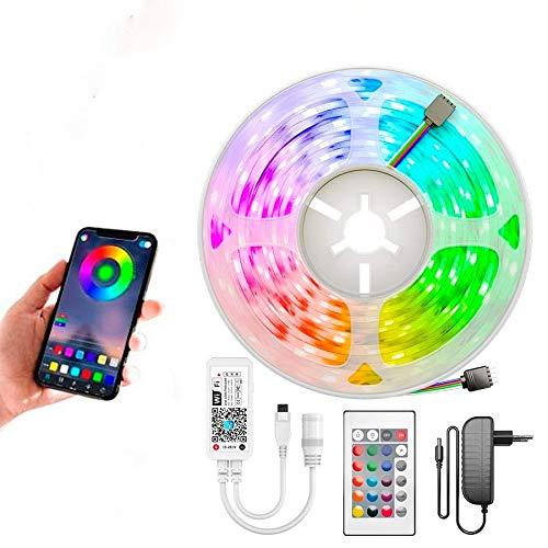 Fita Led Colorida 10 Metros 5050 Wifi - Controle por App e Voz - Alexa e Google Home