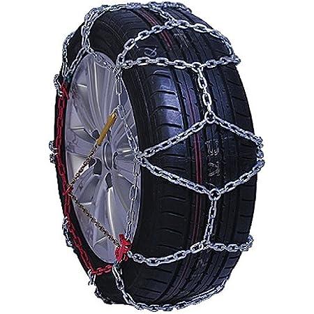 Compass Schneeketten Suv Van Für Reifen 235 65 R17 Extra Stark 16x27mm TÜv Geprüft 250 1 Paar Auto