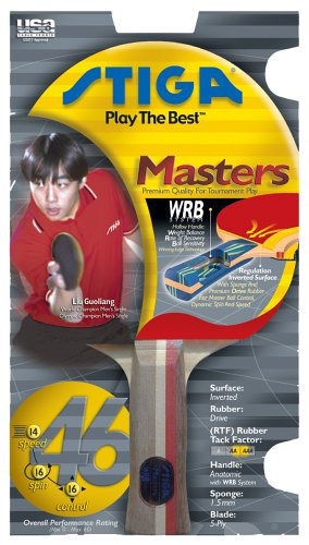 Review STIGA T6932 Masters Table Tennis Racket
