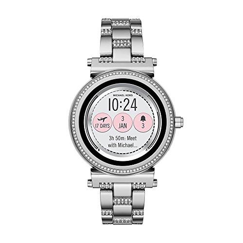 Michael Kors Access Sofie Touchscreen Smartwatch, Silver/glitz bracelet