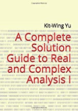 Best real and complex analysis book Reviews