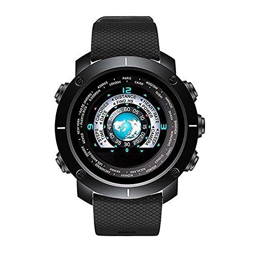 XHZNDZ Orologio Sportivo Digitale da Uomo con Schermo a Colori Orologio da Fanteria Sportiva Nera Orologio Sportivo Cinturino in Gomma da Uomo, Impermeabile Orologio Intelligente con