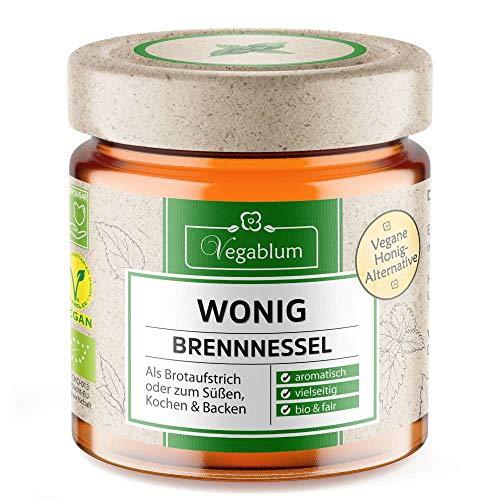 Vegablum Wonig Brennnessel bio - Die vegane Alternative zu Honig, 225 g