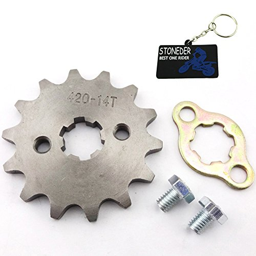 Stoneder 42014denti 17mm anteriore ruota dentata Gear 50cc 70cc 90cc 110cc 125cc 140CC 150cc 160CC motore ATV Quad Pit Bike Dirt Trail