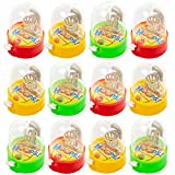 24 Giochi di Pallacanestro Punta e Spara con il Dito - Un intrattenimento portatile e antistress per famiglie. Ideale come regalini per bambini