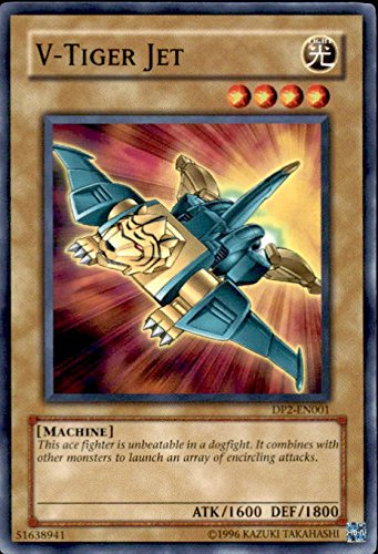 Yu-Gi-Oh! - V-Tiger Jet (DP2-EN001) - Duelist Pack 2 Chazz Princeton - Unlimited Edition - Common
