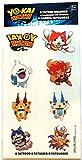 amscan Yo-Kai Watch Tattoos, Party Favor, Multicolor 398282