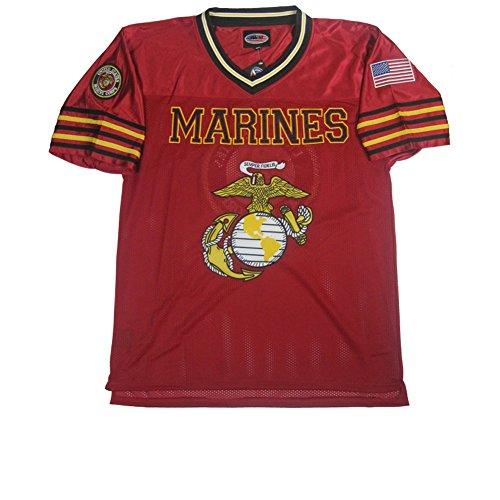 JWM Men's Football Jersey US Marines XXLarge