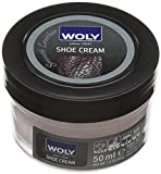 Woly Woly Shoe Cream, Betún Zapatos, Rosa (Bonbon), 50 ml