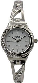 اوماكس ساعة رسمية نساء انالوج بعقارب ستانلس ستيل - 00JES810P003