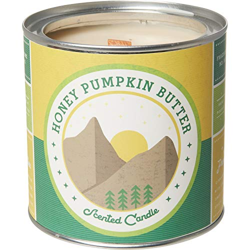 DW Home Favorites Collection Wood Wick 19oz Richly Scented Fall Candles (Honey Pumpkin Butter)
