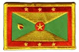 Aufnäher Patch Flagge Grenada - 8 x 6 cm