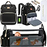 DEBUG Baby Diaper Bag Backpack with Changing Station Baby Bags for Boys Girl, Baby Registry Search...
