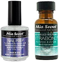 Mia Secret Nail Prep 0.5oz (NP-30) & Xtrabond Primer 0.5 oz