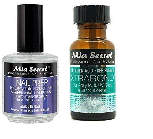 Mia Secret Nail Prep 0.5oz (NP-30) & Xtrabond Primer 0.5 oz (PR100)