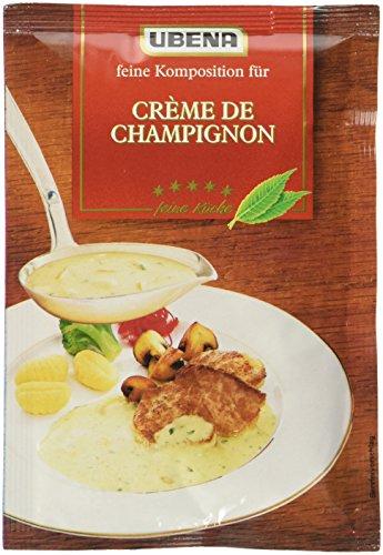 Ubena Creme de Champignon, 6er Pack (6 x 40 g)