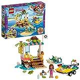 LEGO Friends LaMissionediSoccorsodelleTartarughe, Playset in Barca con Mini-doll di Olivia, Robot Zobo e 4 Tartarughe, Serie Sea Life Rescue, 41376