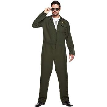 Best Dressed Adulto Hombre Piloto Aviador Disfraz - VARIOS COLORES ...