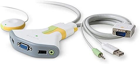 Belkin BLKF1DG102UTT Flip USB with Audio KVM Switch