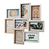 Hofmann | Marco de fotos madera multiple| 8 Fotos 10 X 15 cm