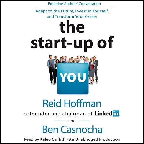 Couverture de The Start-up of You