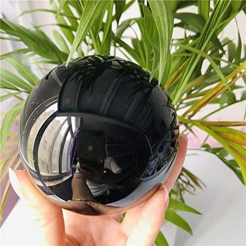 SUOYI Las MásNuevas Bolas De Obsidiana Natural Bola De Cristal Negro Accesorios De Decoración del Hogar Bola De Piedra Circular Fotografía De Boda G