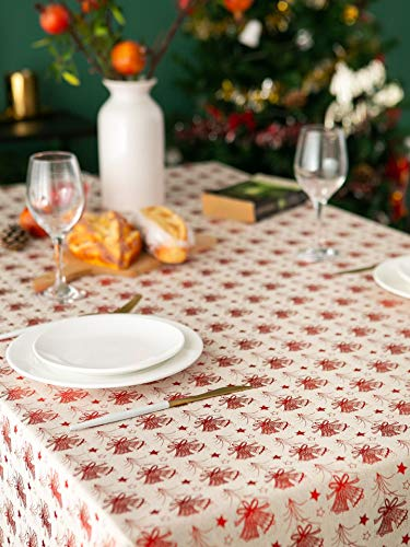 XXDD Modern simple hot stamping tablecloth printing rectangle simple banquet decoration cover towel party knitted Christmas A2 140x200cm