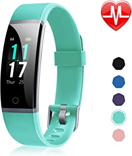 Letsfit Fitness Tracker, Activity Tracker Watch with Heart Rate Monitor, IP68 Standard Smart Watch with Step Counter, Calo...