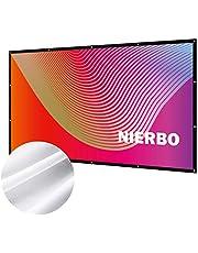 折り畳み式プロジェクタースクリーン NIERBO 100インチ~120インチ 持ち運び便利
