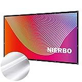 Écran de Projection, NIERBO Ecran Projection Anti-Pliage 100 Pouces 16:9 Portable...