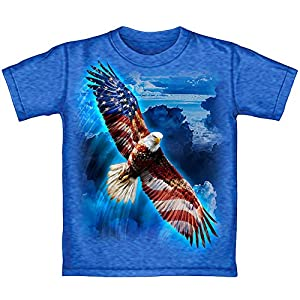 American Eagle USA Adult Tee Shirt (Adult Small) from