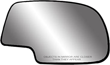 Fit System 80058 Passenger Side Non-heated Replacement Mirror Glass with Backing Plate