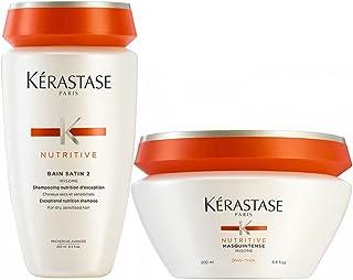 Kérastase, Bain Satin 2 da 250 ml e Masquintense per capelli spessi da 200 ml