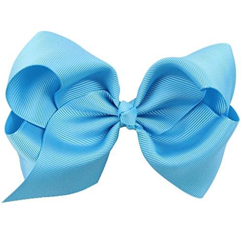 Covermason Pince à cheveux noeud pour enfants papillon (Bleu)